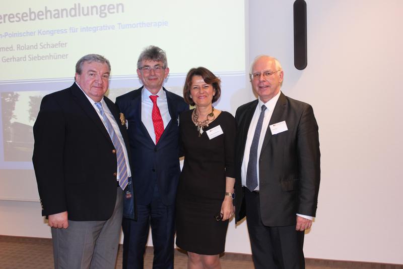 Prof. B. Michalski, Dr J. Vorreiter, Dr M. Nasiłowska, Hr. J. Zięba