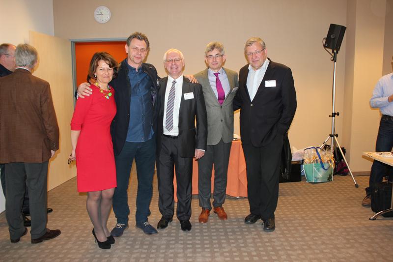 Dr M. Nasiłowska, Dr C. Juda, Hr J. Zięba, Dr J. Vorreiter, Prof. J. Scheele